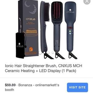 CNXUS Accessories - Hair Straightening Brush!
